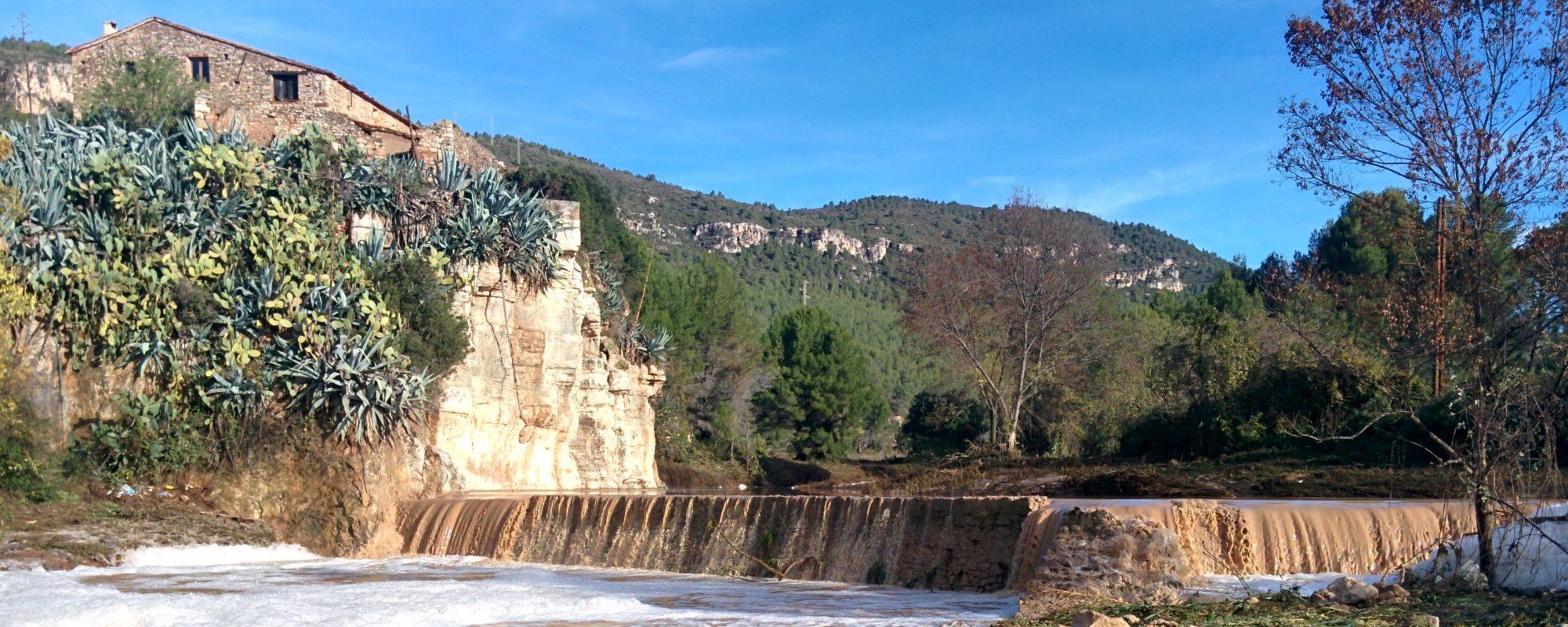 Estem treballant en l'inventari del patrimoni fluvial del Gaià  https://patrimonifluvialdelgaia.wordpress.com/